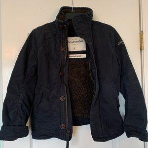 Abercrombie Kids Adirondack Jacket-Small Navy Blue